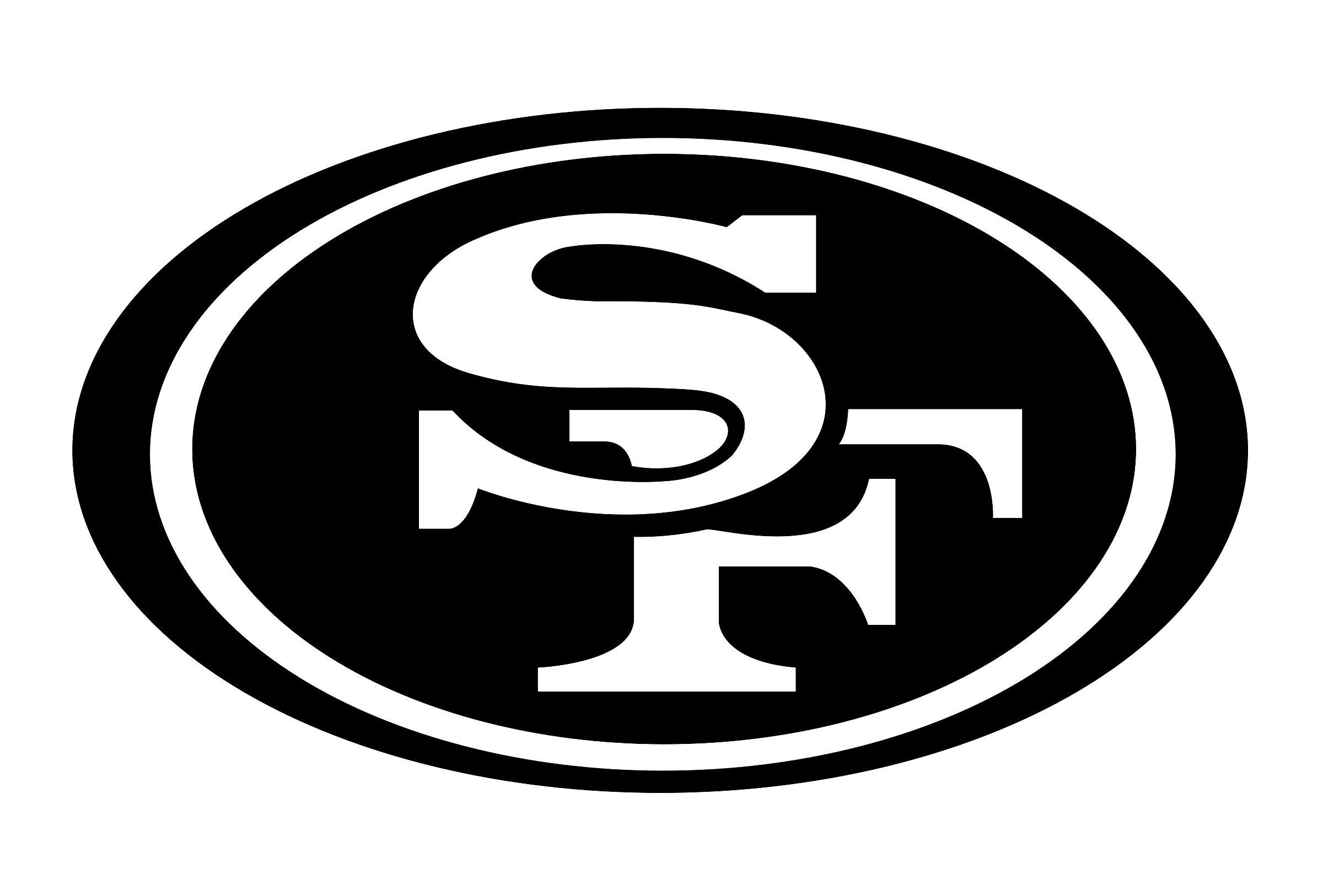 49ers drawing design. San francisco ers logo