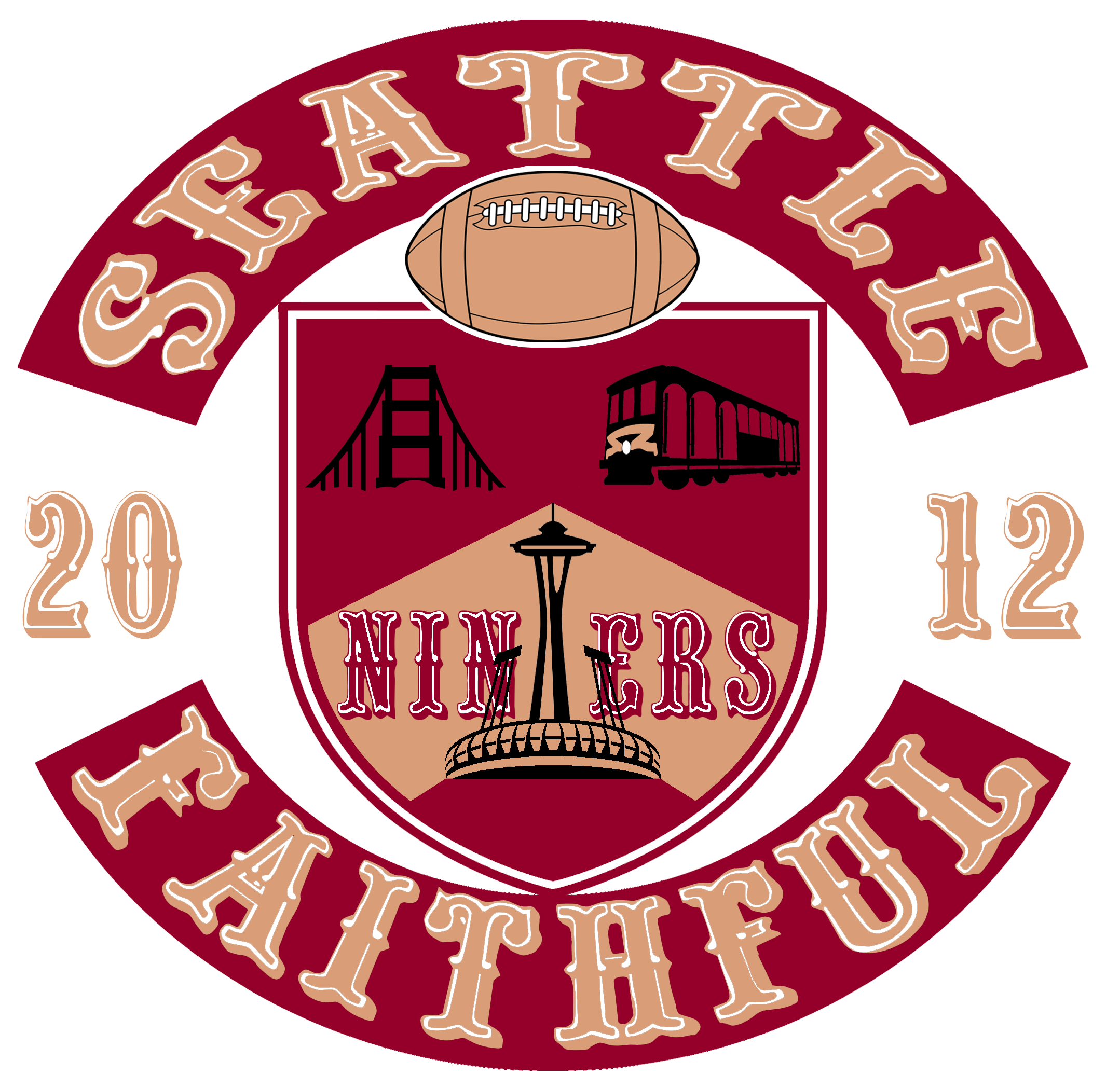 49ers drawing faithful. Seattle niners still forever