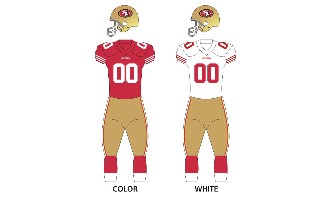 49ers drawing pattern. San francisco ers