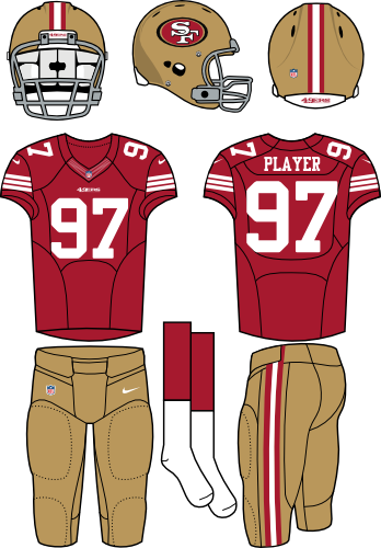 49ers drawing design. San francisco ers home