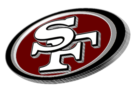 49ers logo png. Ers silhouette at