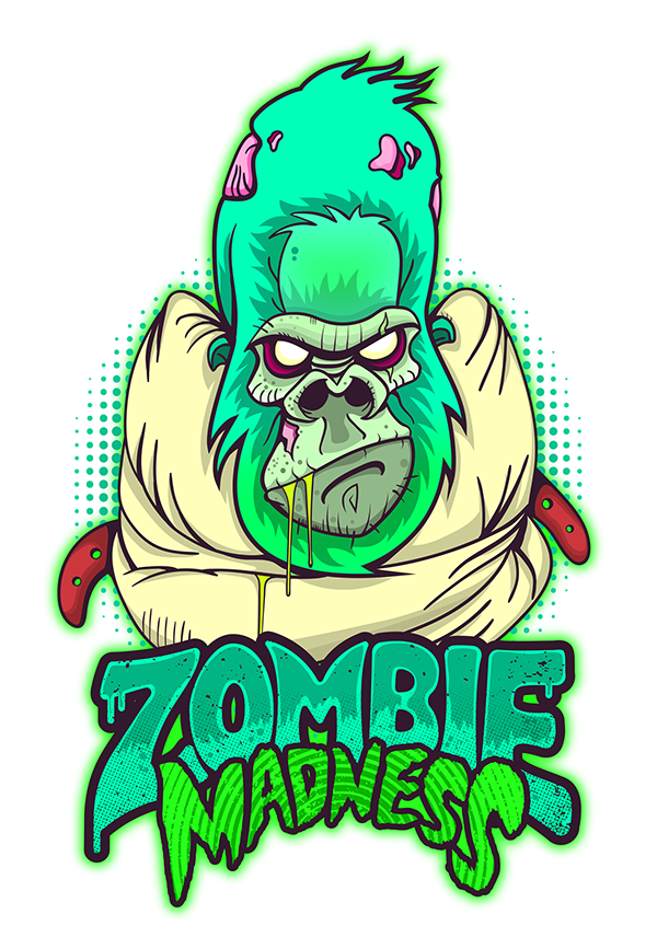 4d drawing crazy. Zombie madness on behance