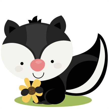 Drawing raccoon cute forest animal. Skunk large png dibujos