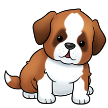 15 4d Drawing Cute Christmas Dog For Free Download On Ya Webdesign