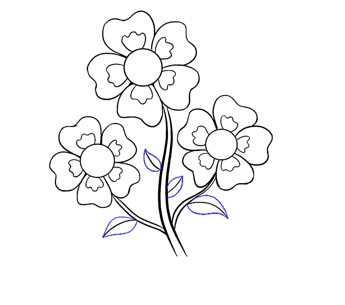 Drawing shade flower. How to draw cartoon