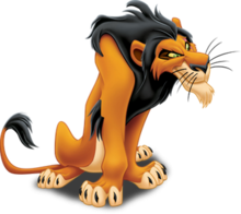 Scar the king wikipedia. Drawing lions male lion png freeuse