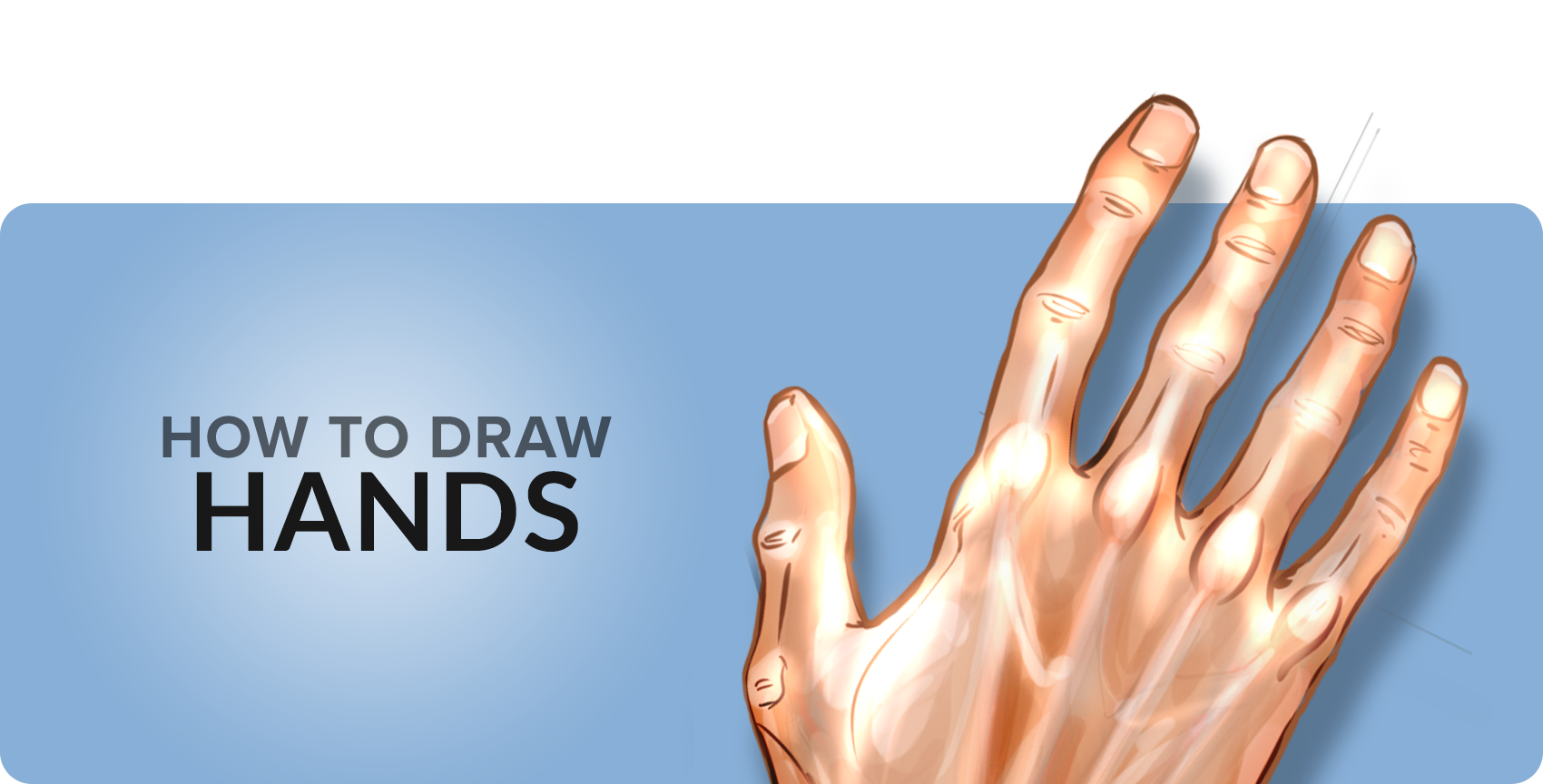 How to draw hands. Fingers drawing svg black and white