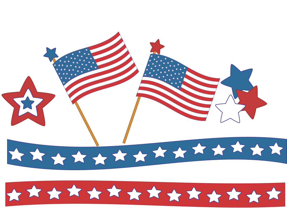 Independence Day (Fourth of July). Th free clipart