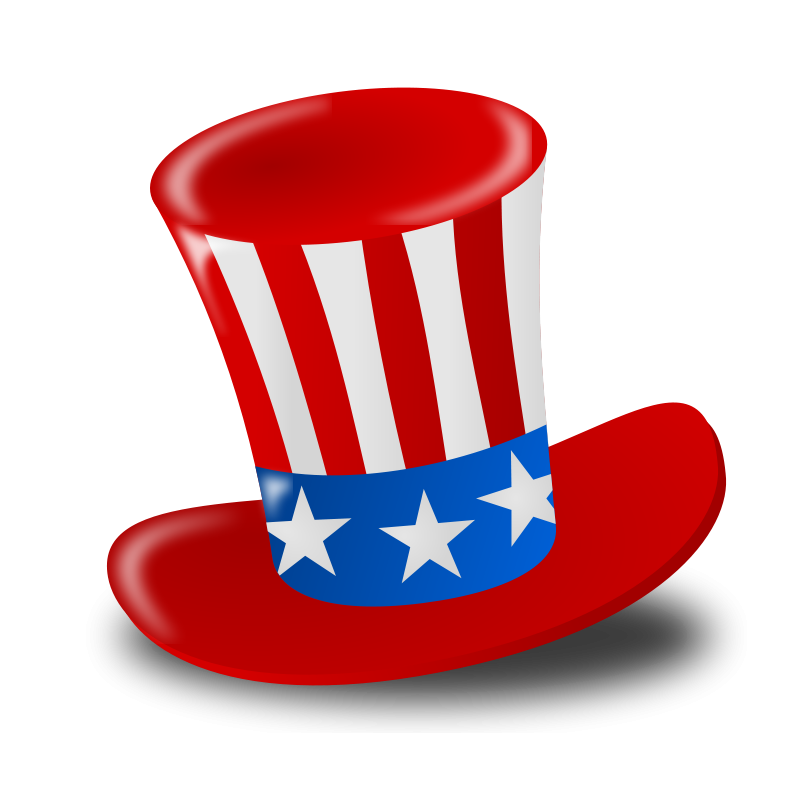 4th clipart. Free th of july