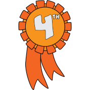 Fourth of clipart. Th place
