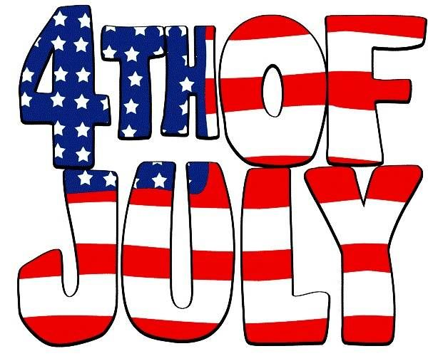 Fourth of clipart. Th july banners