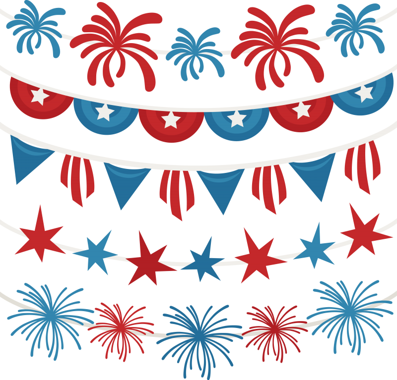 4th of july banner png. Th banners svg