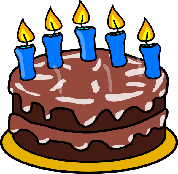 5 birthday candle png. Cake candles clip art svg free download