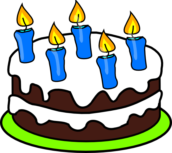 Cake candles clip art. 5 candle png vector freeuse stock