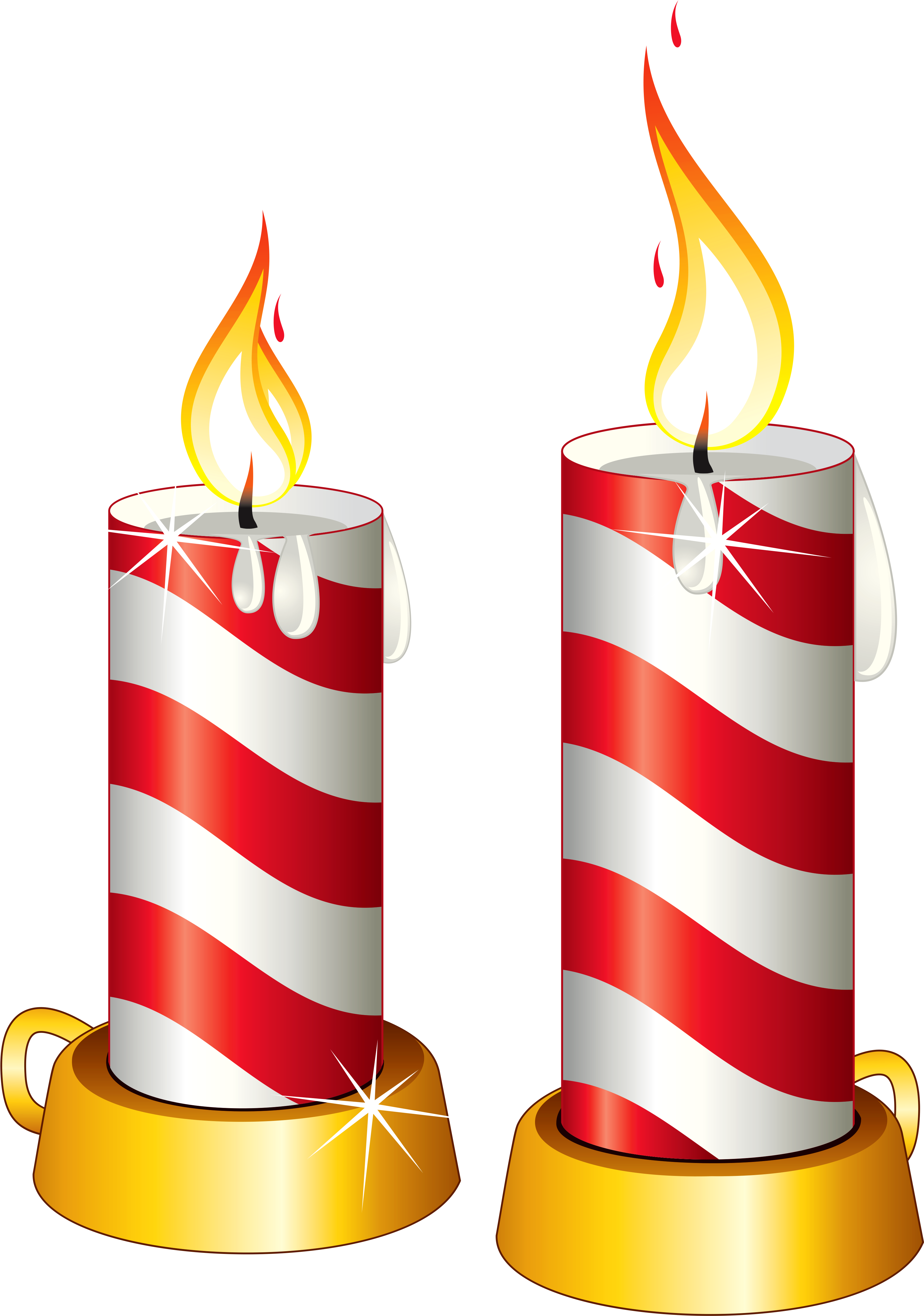 5 candle png. Download transparent christmas candles