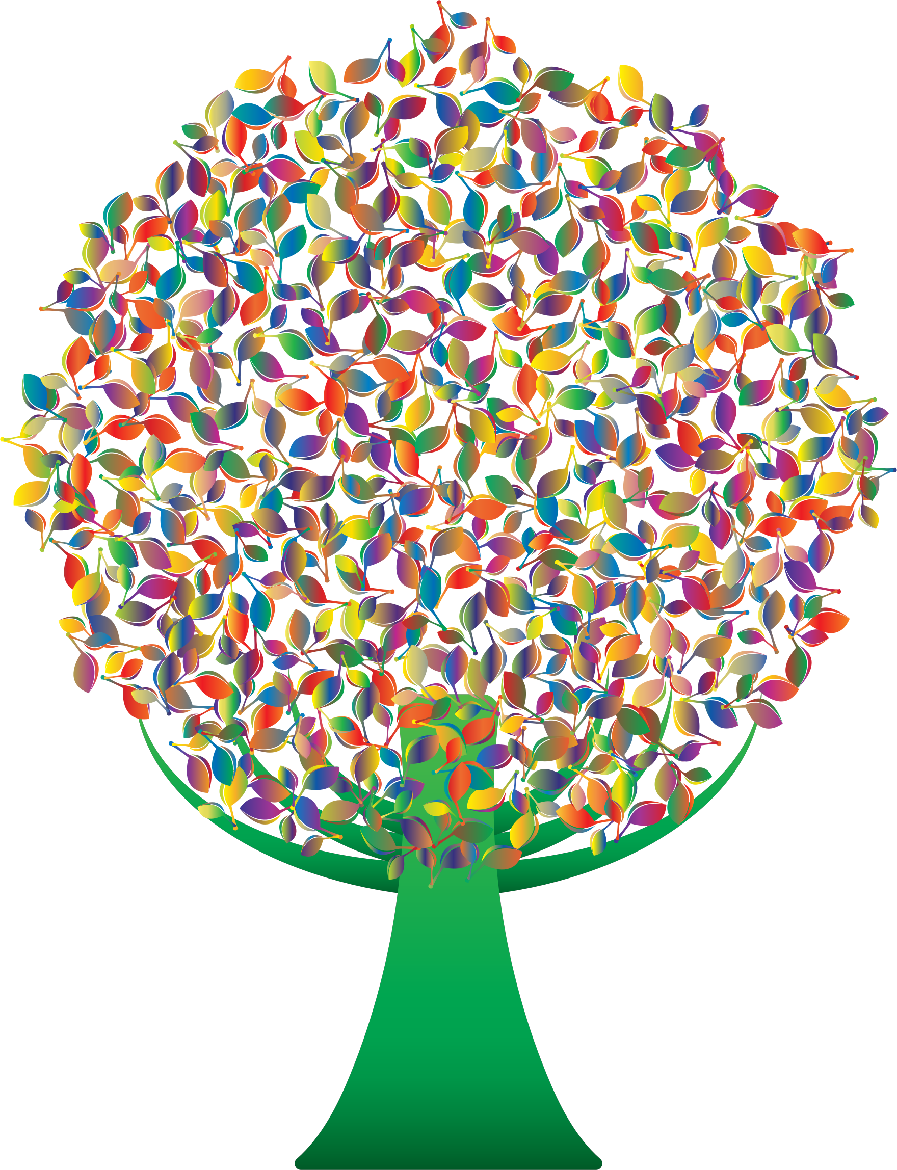 Clipart prismatic tree no. Green abstract background png image library stock