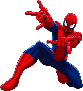 Spiderman clipart number 5. Comic character pinterest spider