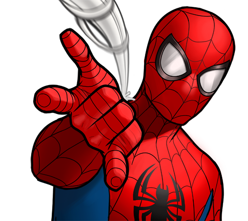 Spiderman clipart marvel. Free at getdrawings com