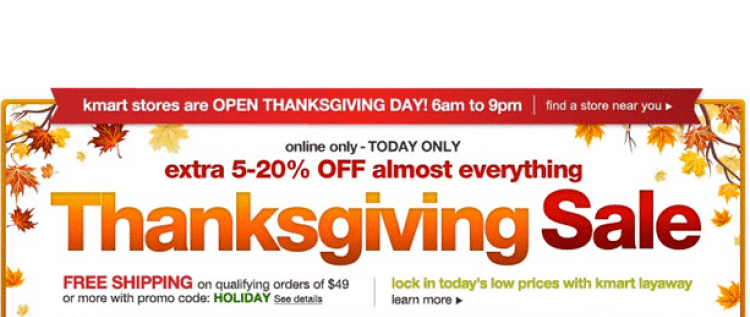 5 day sale png. Top kmart thanksgiving deals