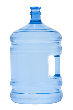5 gallon water bottle png