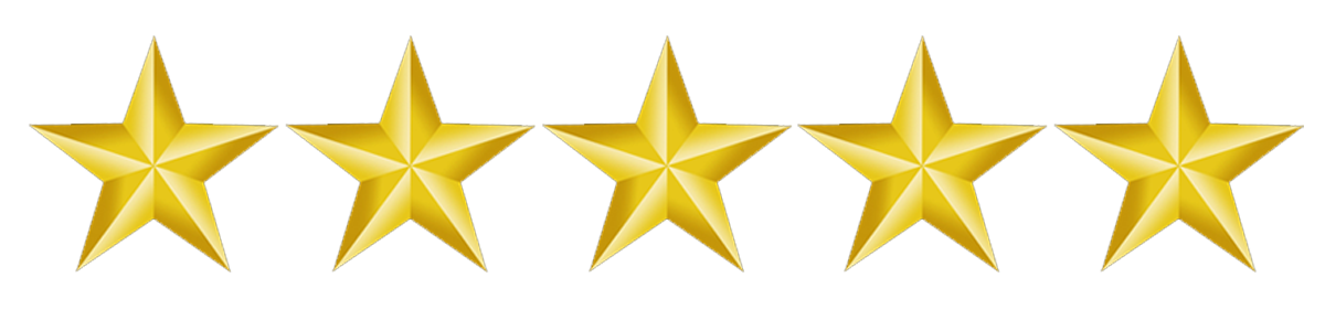 5 gold star png. Fast credit union feedback