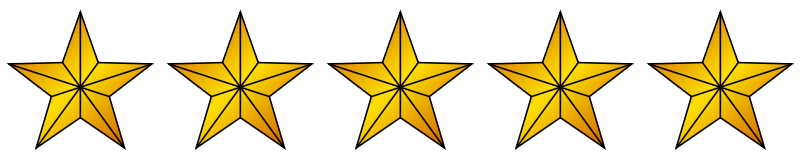 File svg wikimedia commons. 5 gold stars png vector free library