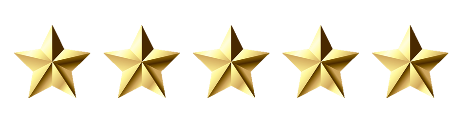 5 gold stars png svg black and white download