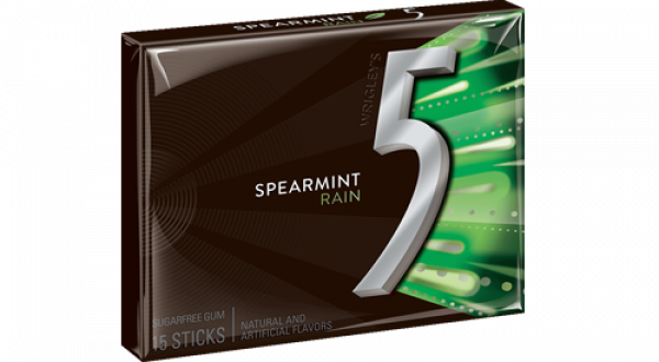 5 gum png. By wrigley s