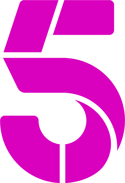 5 logo png. Channel announces gender pay