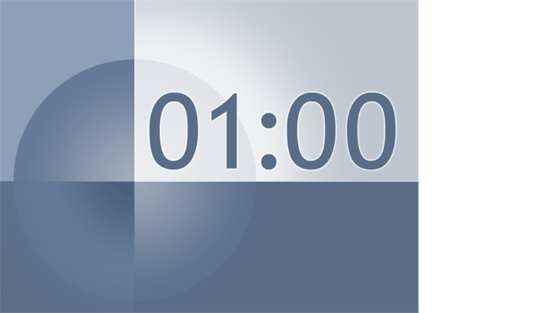 Stopwatch transparent gif powerpoint. Minute timer slide