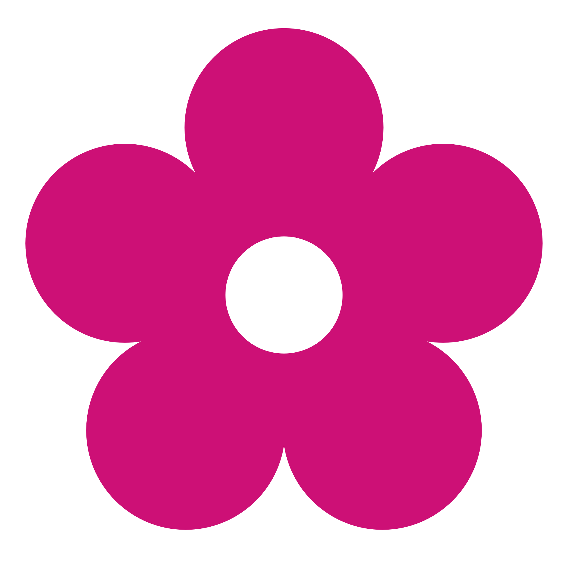 5 petal flower png. Collection of clipart