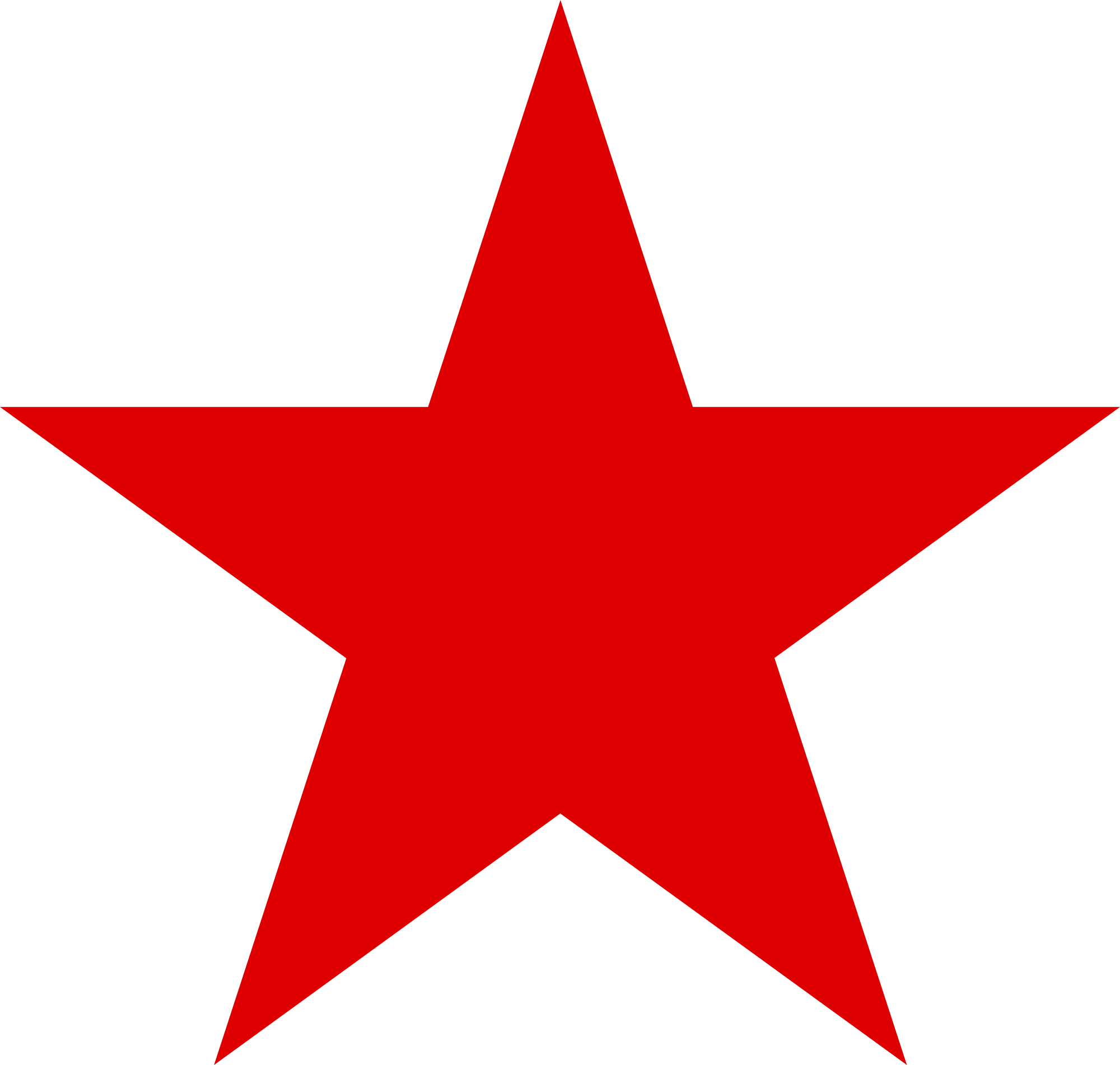 5 pointed star png. Red wikimedia commons