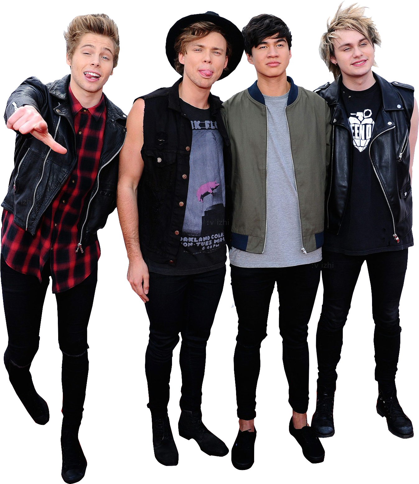 5 seconds of summer png. Image photopack sos by