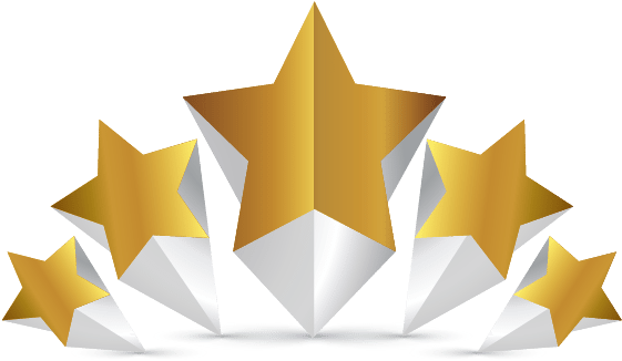 Download d gold star. 5 stars png image jpg black and white