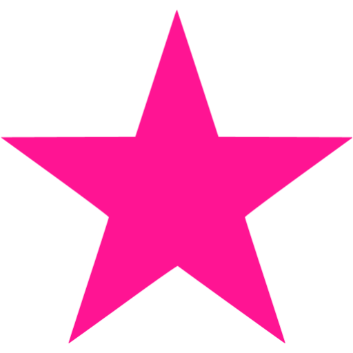 5 star rating pink png. Deep icon free icons