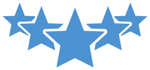 Five star icons vector. 5 stars png transparent vector library library
