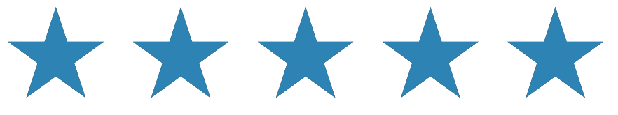 star rating a. 5 stars png transparent clip freeuse