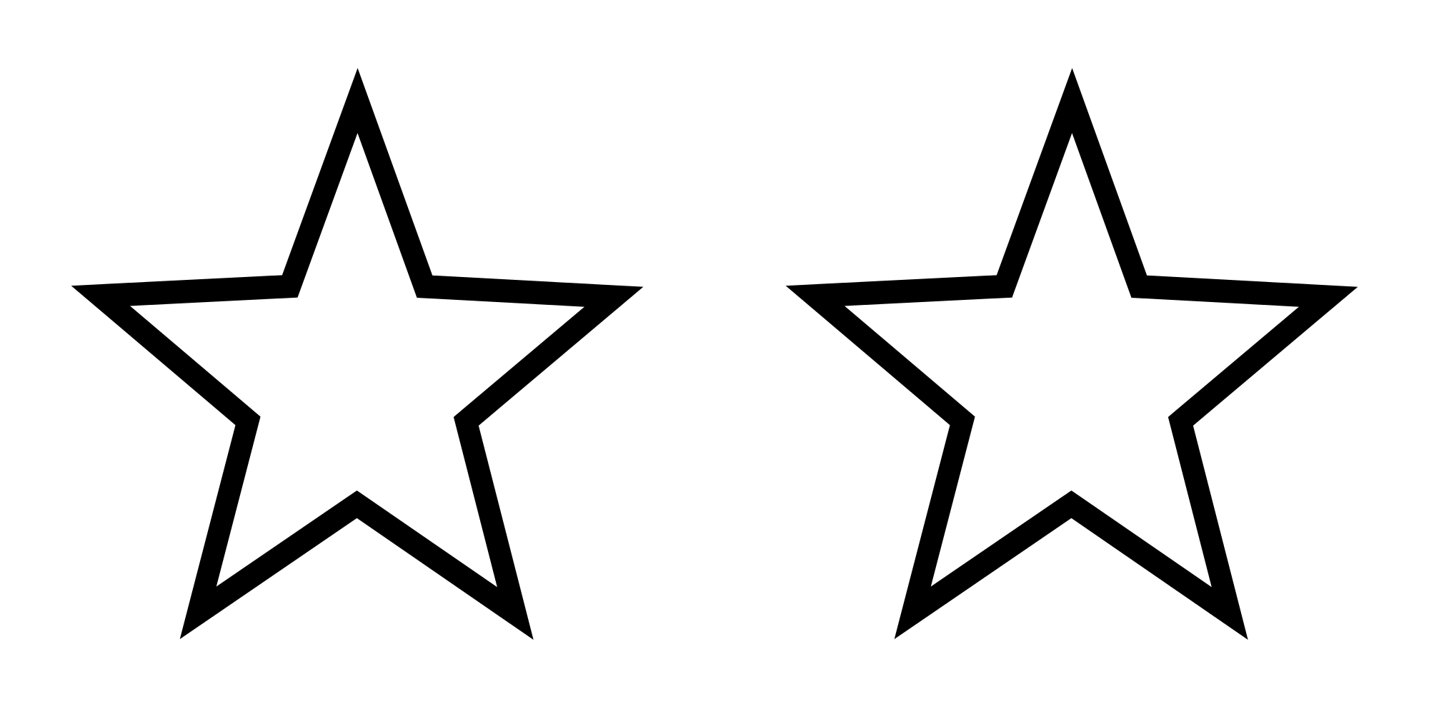 File white svg wikimedia. 5 stars png transparent vector black and white