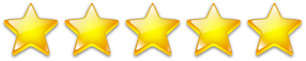 Image result for five stars png