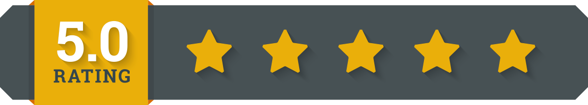 5 stars review png. Fhca a year in
