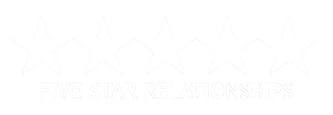 5 white stars png. Five star relationships executive