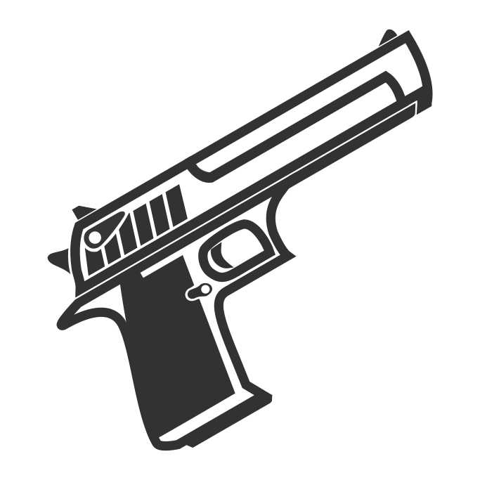 Weapon clip mac. Desert eagle surviv io