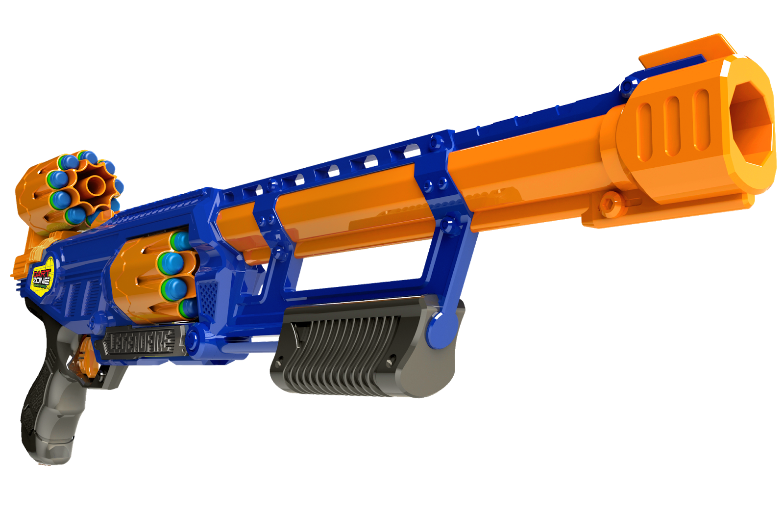 50 clip nerf dart. Bay area zone products