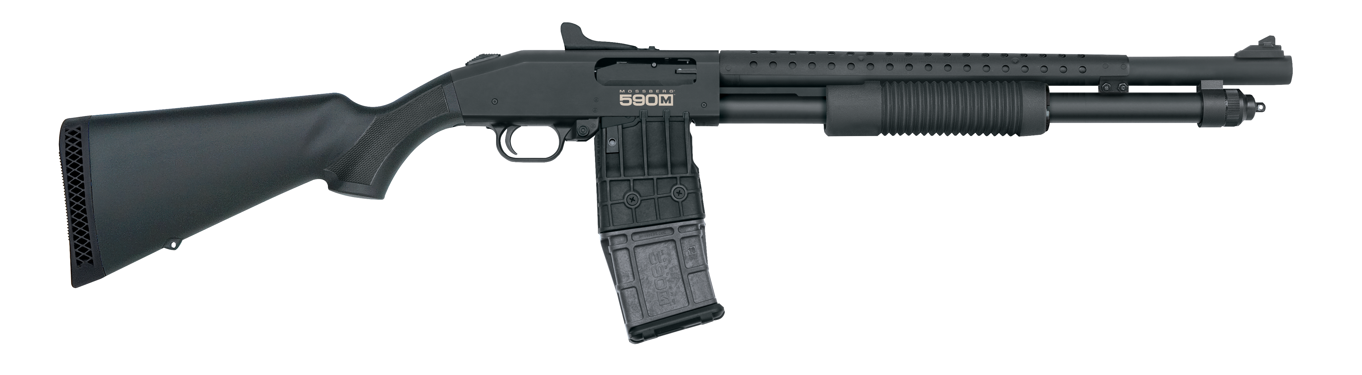 50 clip shot. Mossberg blog launches mag