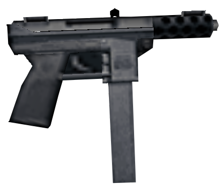50 clip tec 9. Machine pistol gta wiki