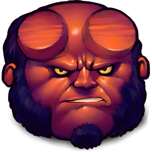 512x512 png images. Comics hellboy icon ultrabuuf