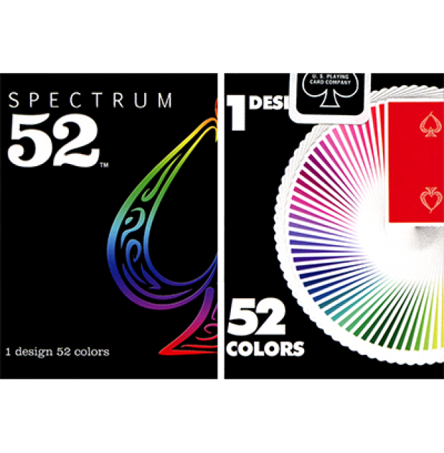52 playing cards png. Spectrum deck by us