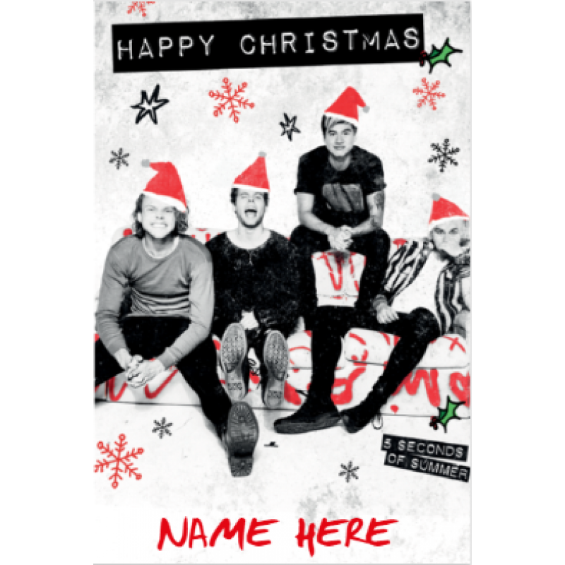 5sos transparent christmas. Seconds of summer