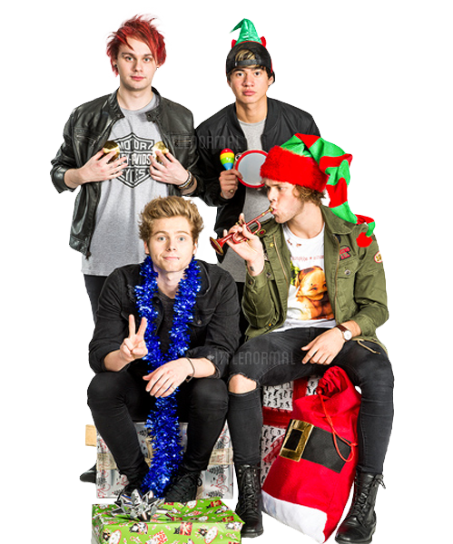5sos transparent christmas. Sos png by