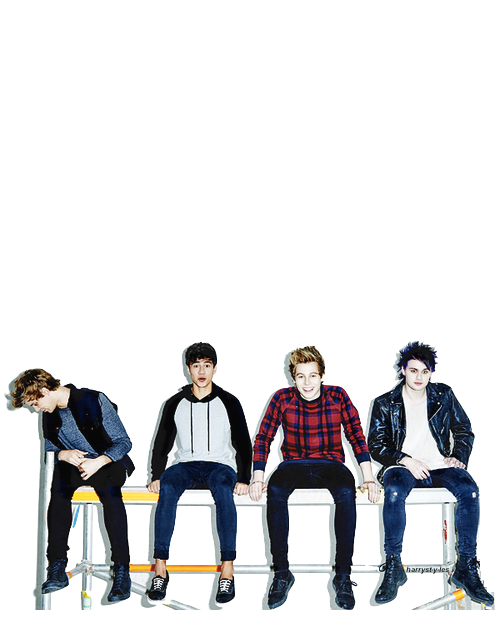 5sos transparent painting. Normal people scare me